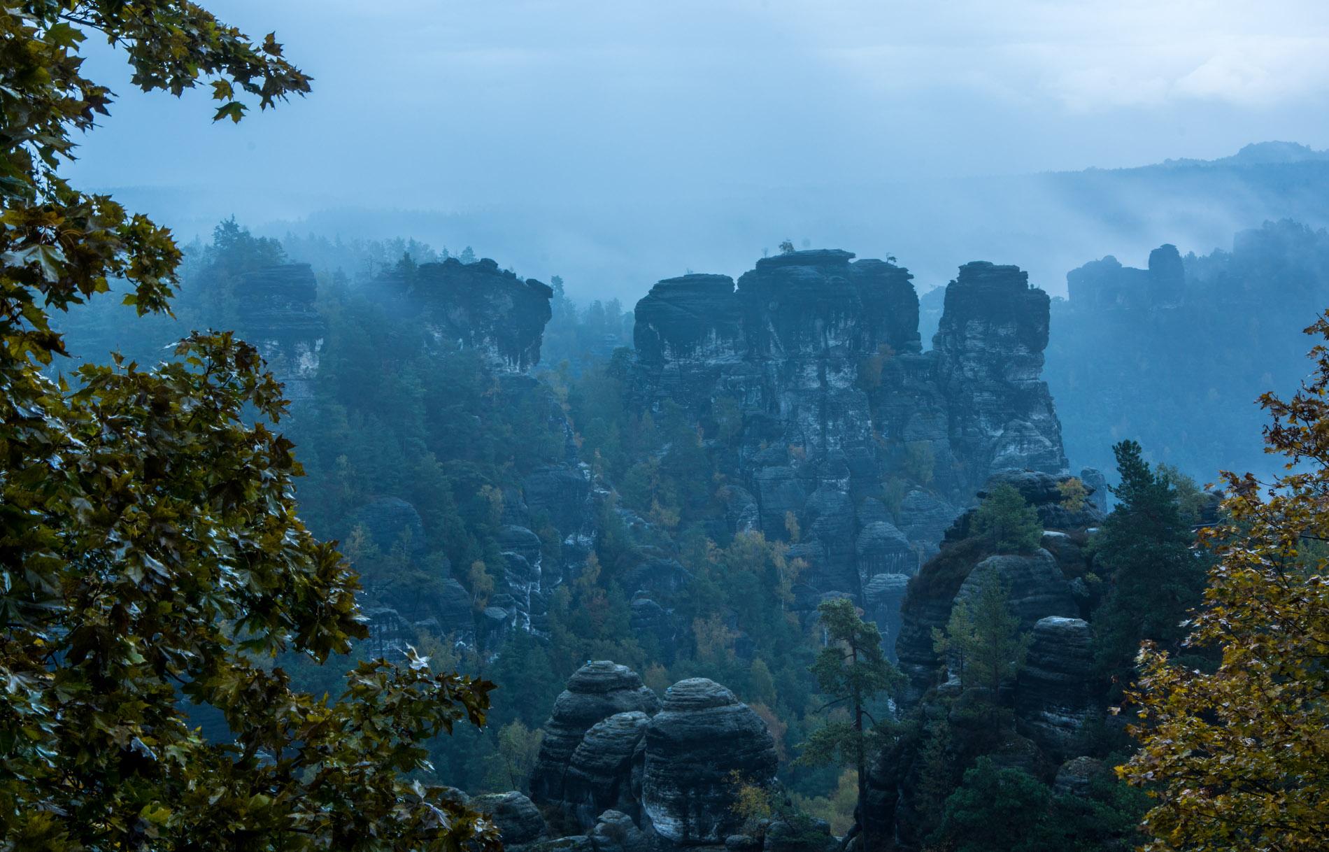 Malerisches Elbsandsteingebirge
